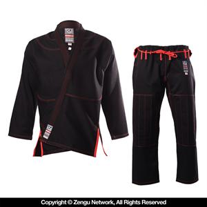 Do or Die HyperLyte Jiu Jitsu Gi - Black